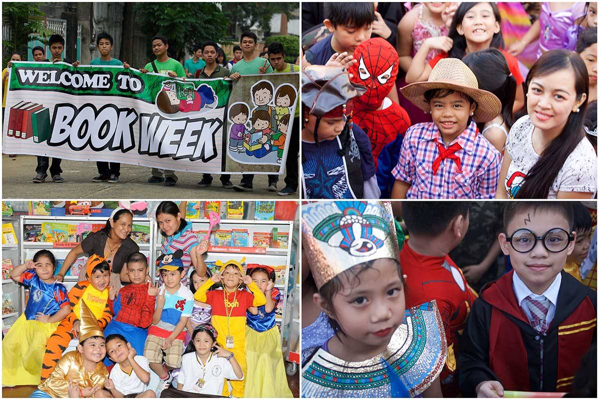 Book Week is a time honored celebration to raise awareness among student the importance of books and literature. Throughout the five day celebration there will be lots of educational but fun activities such as poetry reading, story writing contests, arts and crafts projects, and a colorful costume parade where students wear their favorite book and comic character.