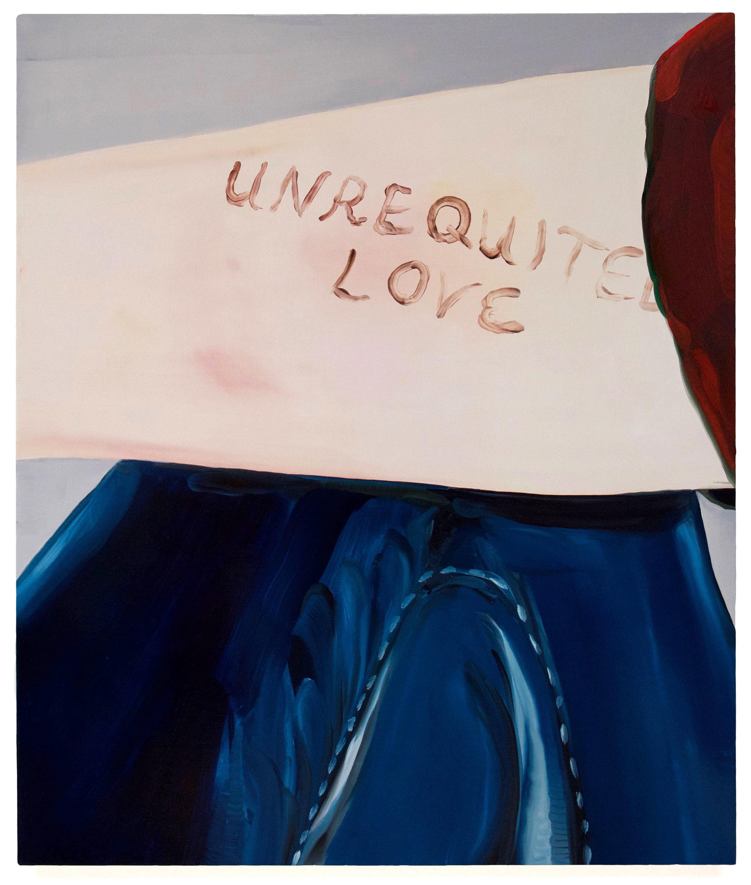 Unrequited Love, Denim Jeans_50x60cm.jpg