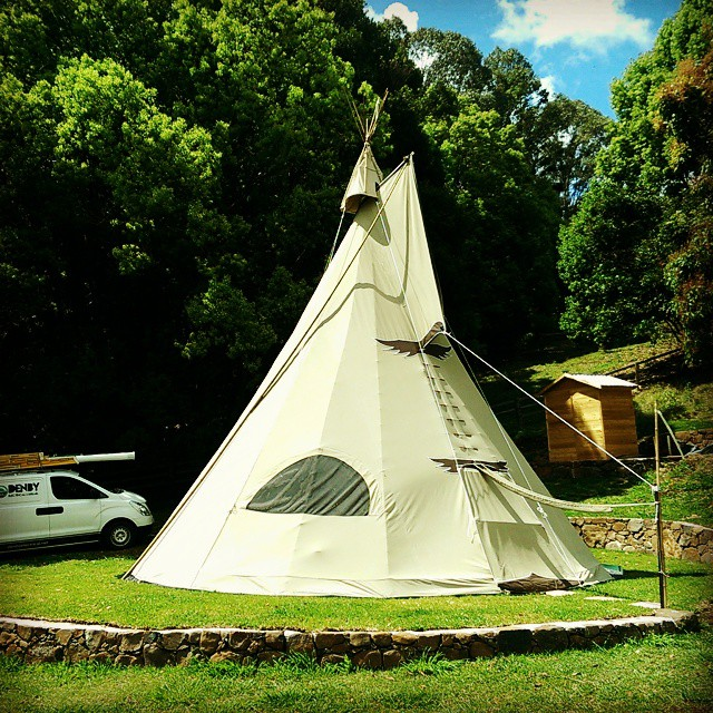 New job - To power the Tee-Pee from the #sun. Will be completely off-grid with excess energy from panels stored in batteries for night time use and those cloudy days.  Keep and eye-out for this #Off-Grid #Tee-Pee on #air-bnb.  #greenliving # smartliving #gogreen #gosolar #renewableenergy #cleanenergy #localinstaller #climatechange #sustainable #solar #environment