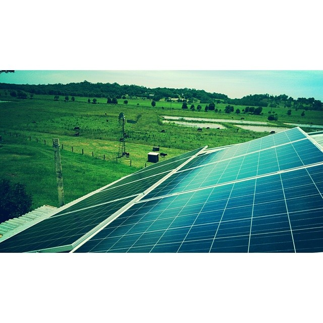 We are lucky to work in one of the most beautiful parts of the world, one solar panel at a time.