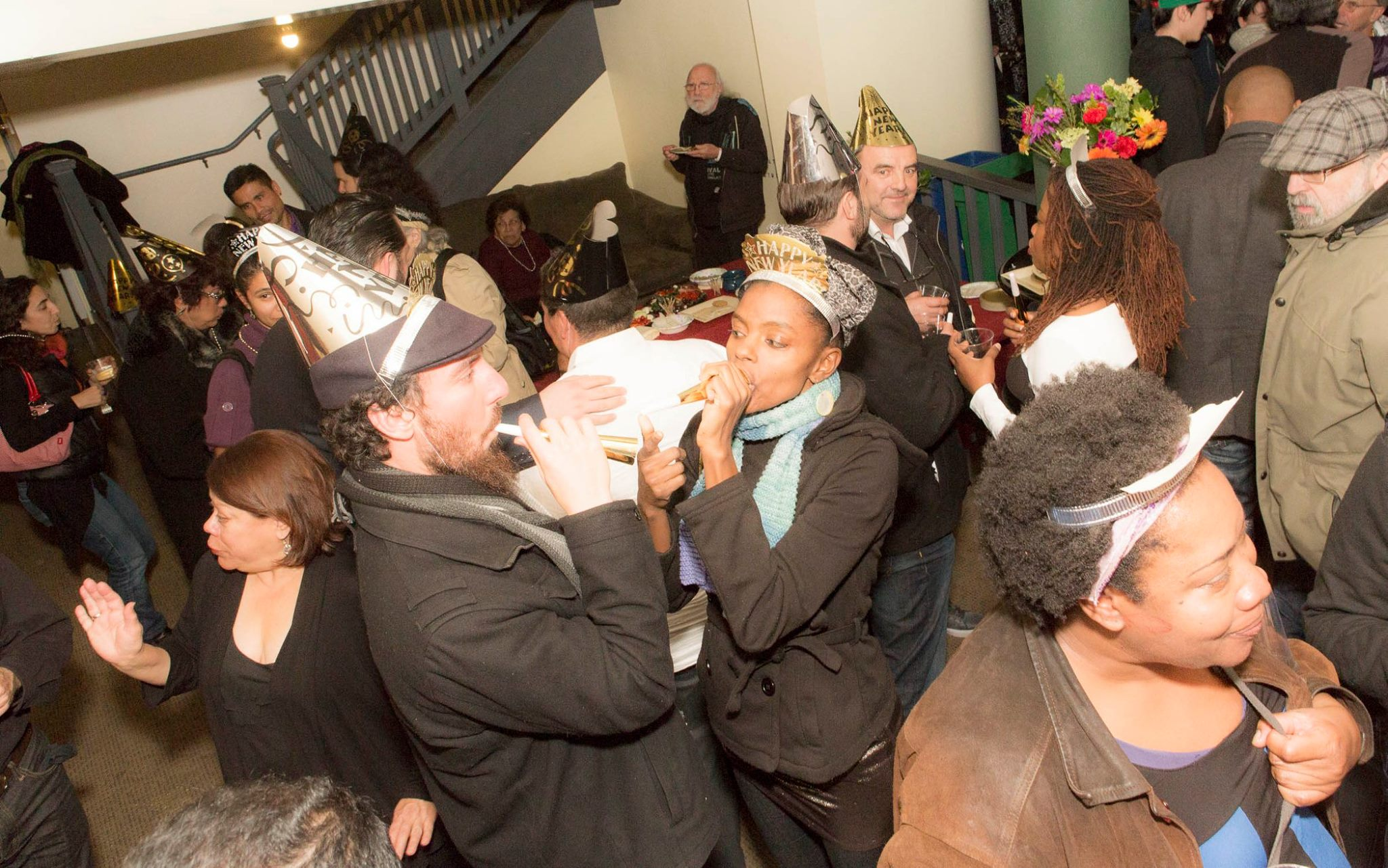 After the laughs - get your party hat on!