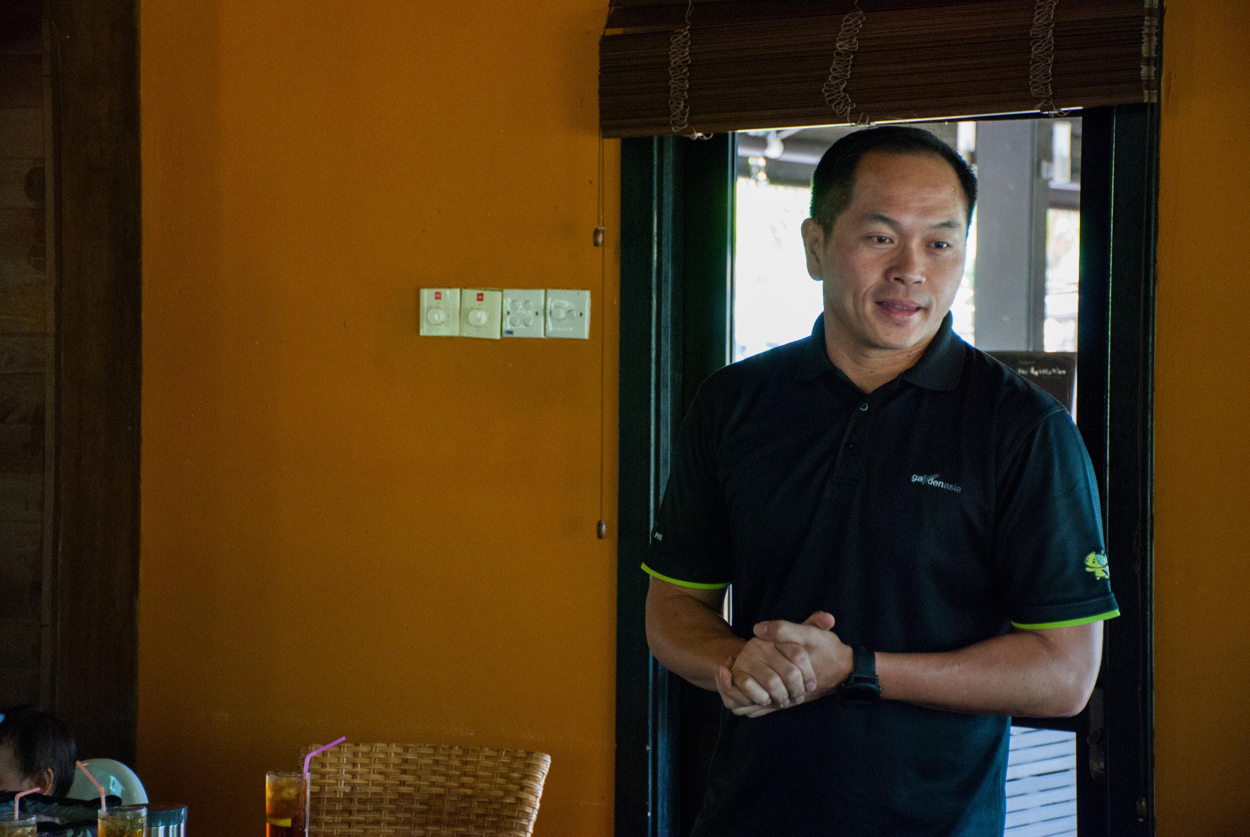 Kenny Eng, Kranji Countryside President