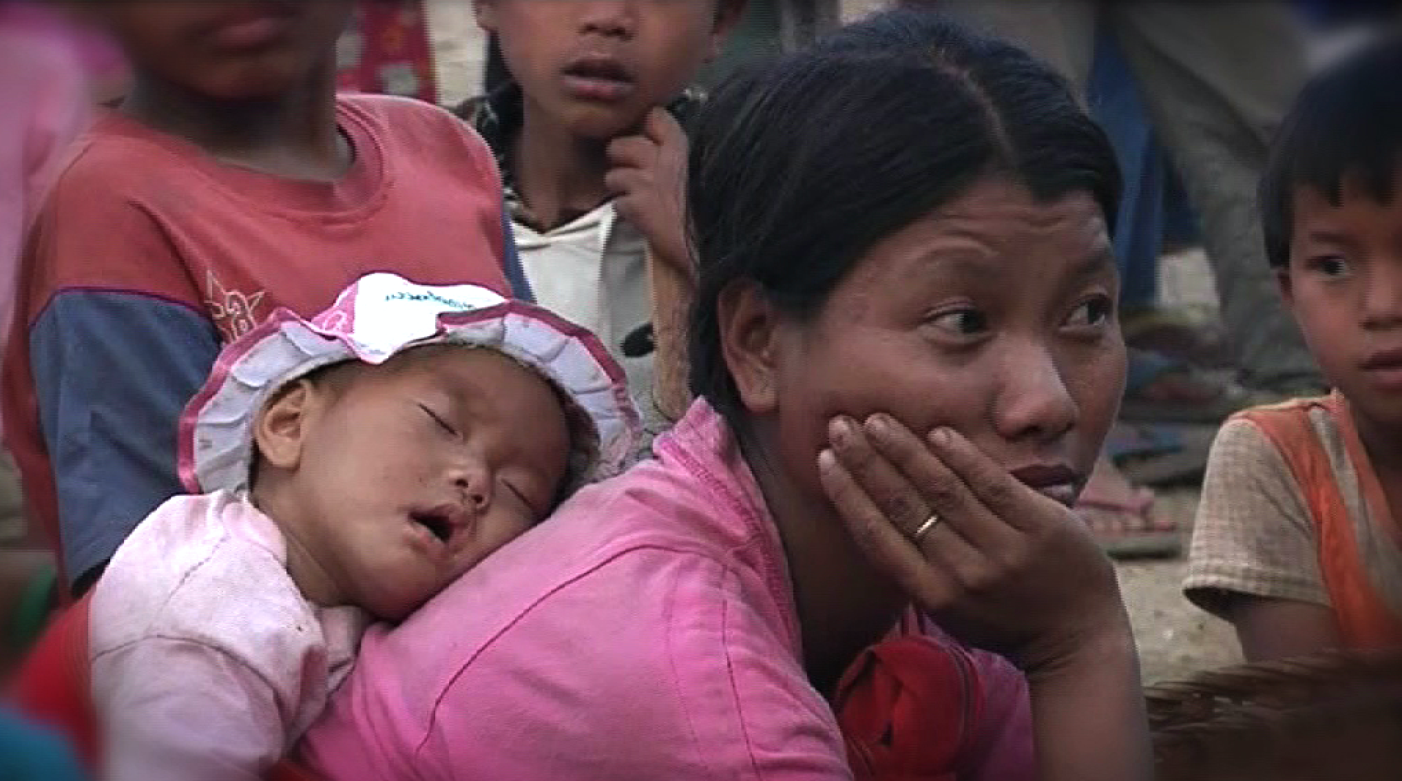 Refugees Flee Myanmar to China