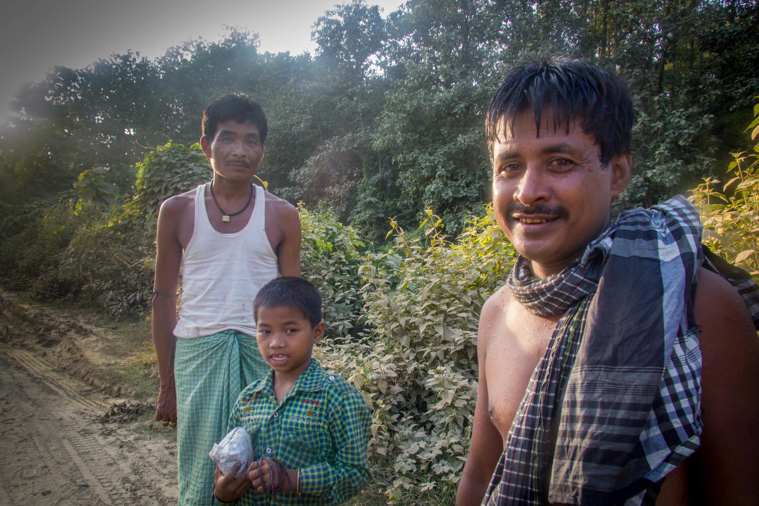 The ethnic mix of Nagaland