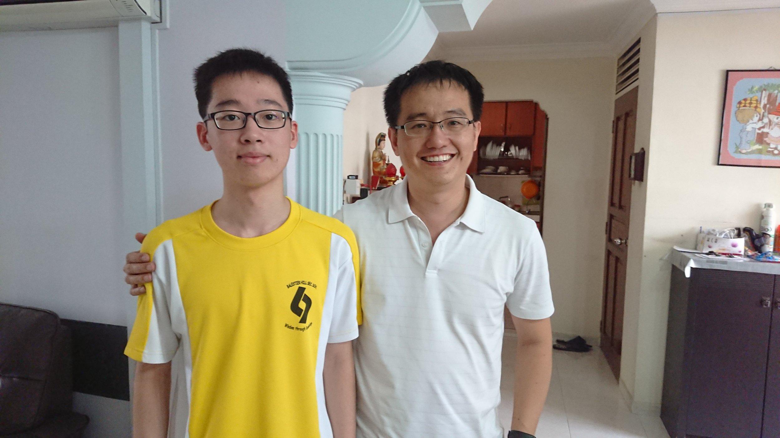 Tze Han, GCE O Levels