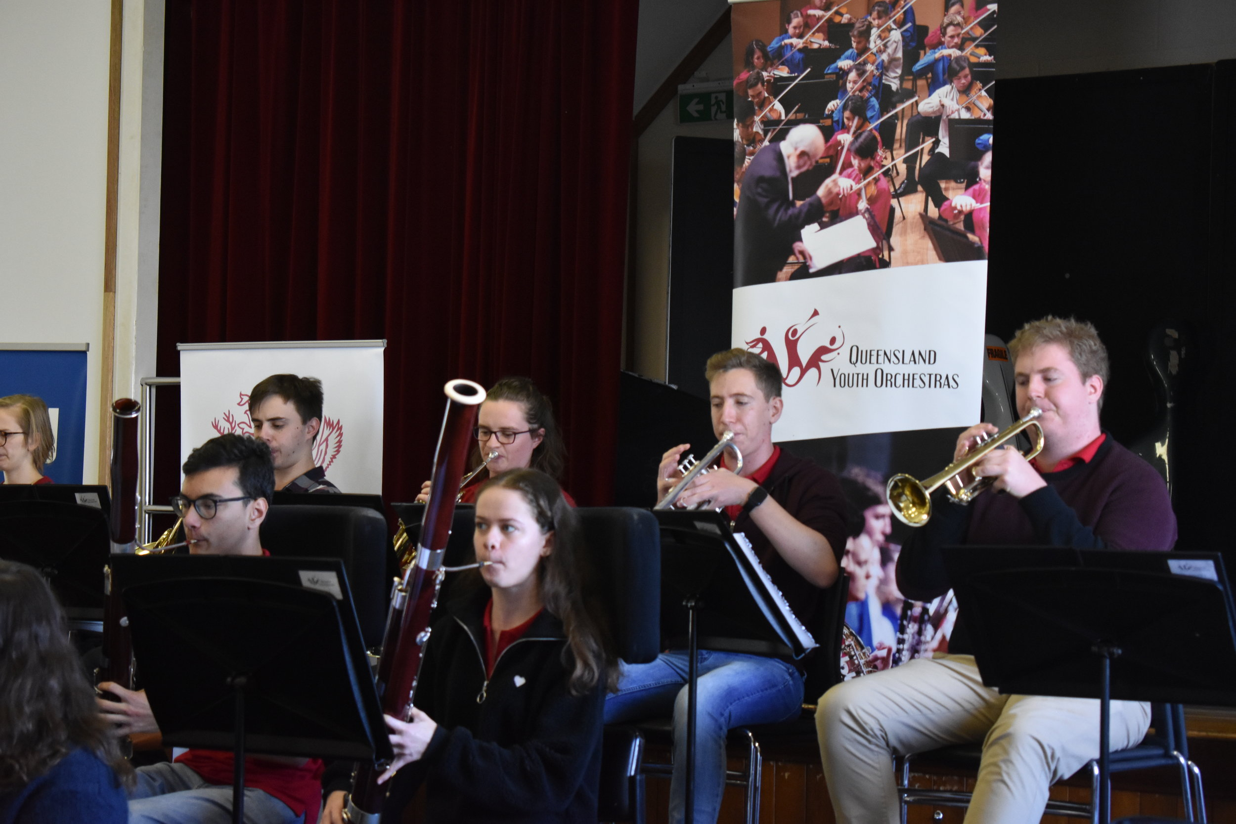 Regional Tour Blog 6: Nebo concert — Queensland Youth Orchestras