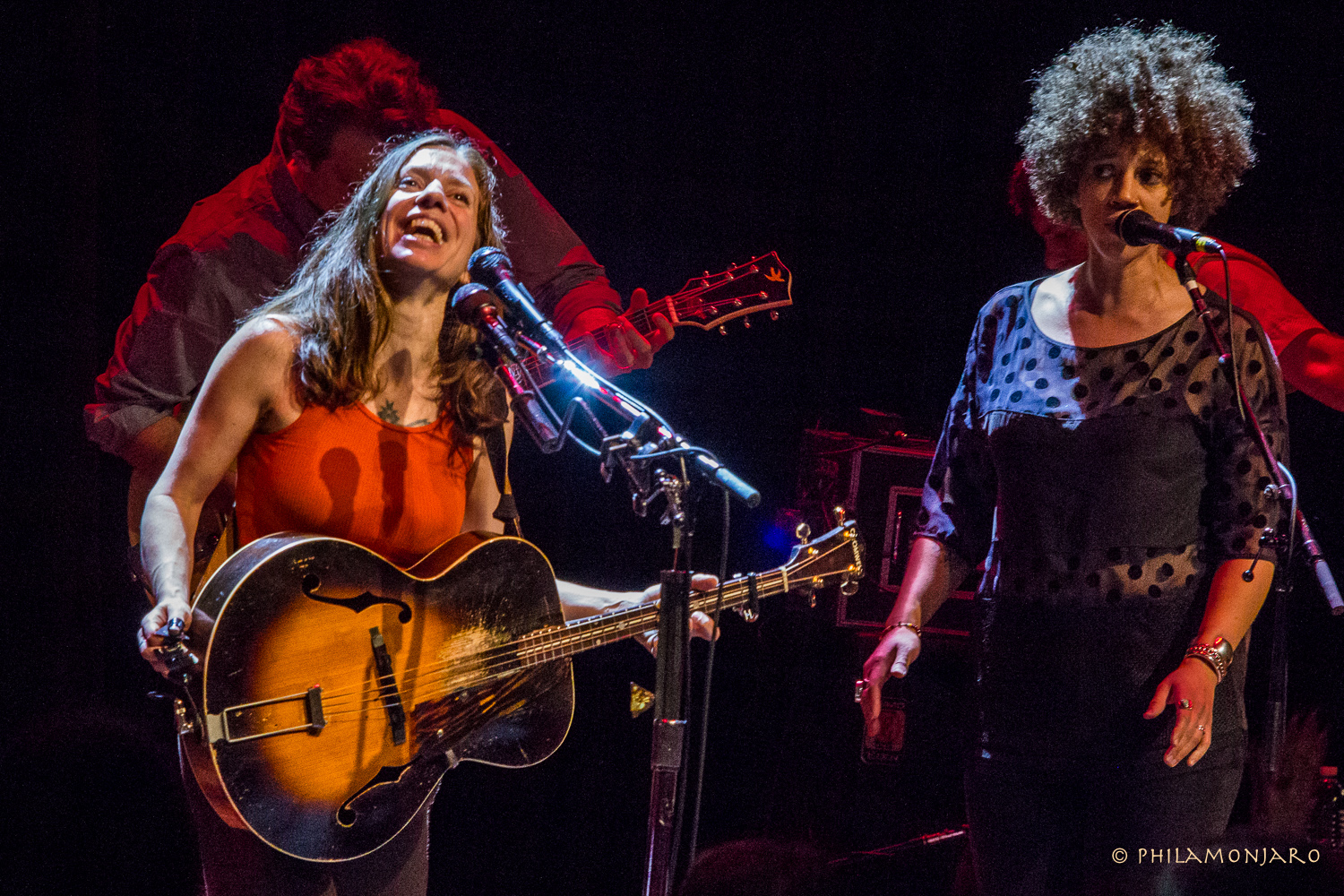 Ani DeFranco and Chastity Brown 2016