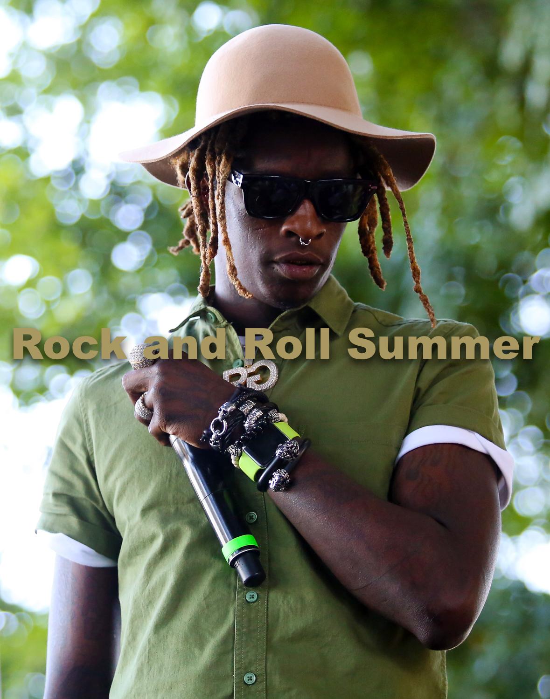 "Young Thug, Chicago, IL, 2015 - Andy Argyrakis  11""x14"" $200.00 framed / $150.00 unframed"