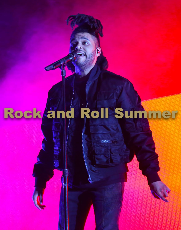 "The Weeknd, Chicago, IL, 2015 - Andy Argyrakis  11""x14"" $200.00 framed / $150.00 unframed"