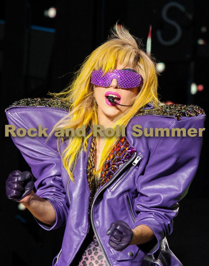 """Lady GaGa, Chicago, IL, 2010 - Barry Brecheisen  16""""x20"""" $250.00 framed / $175.00 unframed"""