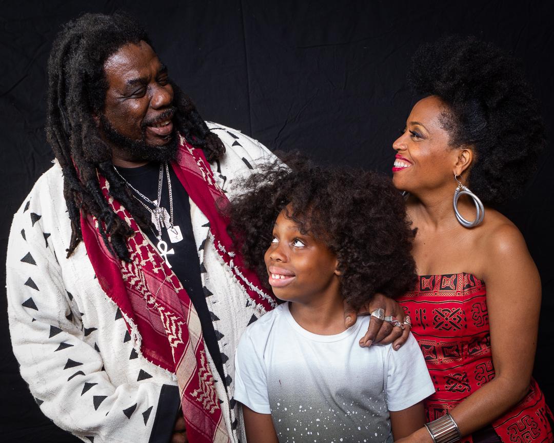 Rhonda Ross, Rodney Kendrick and Raif-Henok Emmanuel Kendrick 2019
