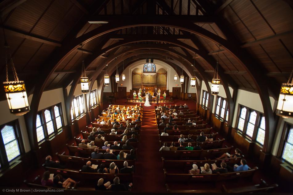 Decatur First United Methodist Church Chapel Wedding