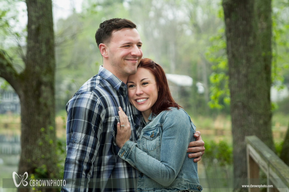 Air Force Couple Portrait