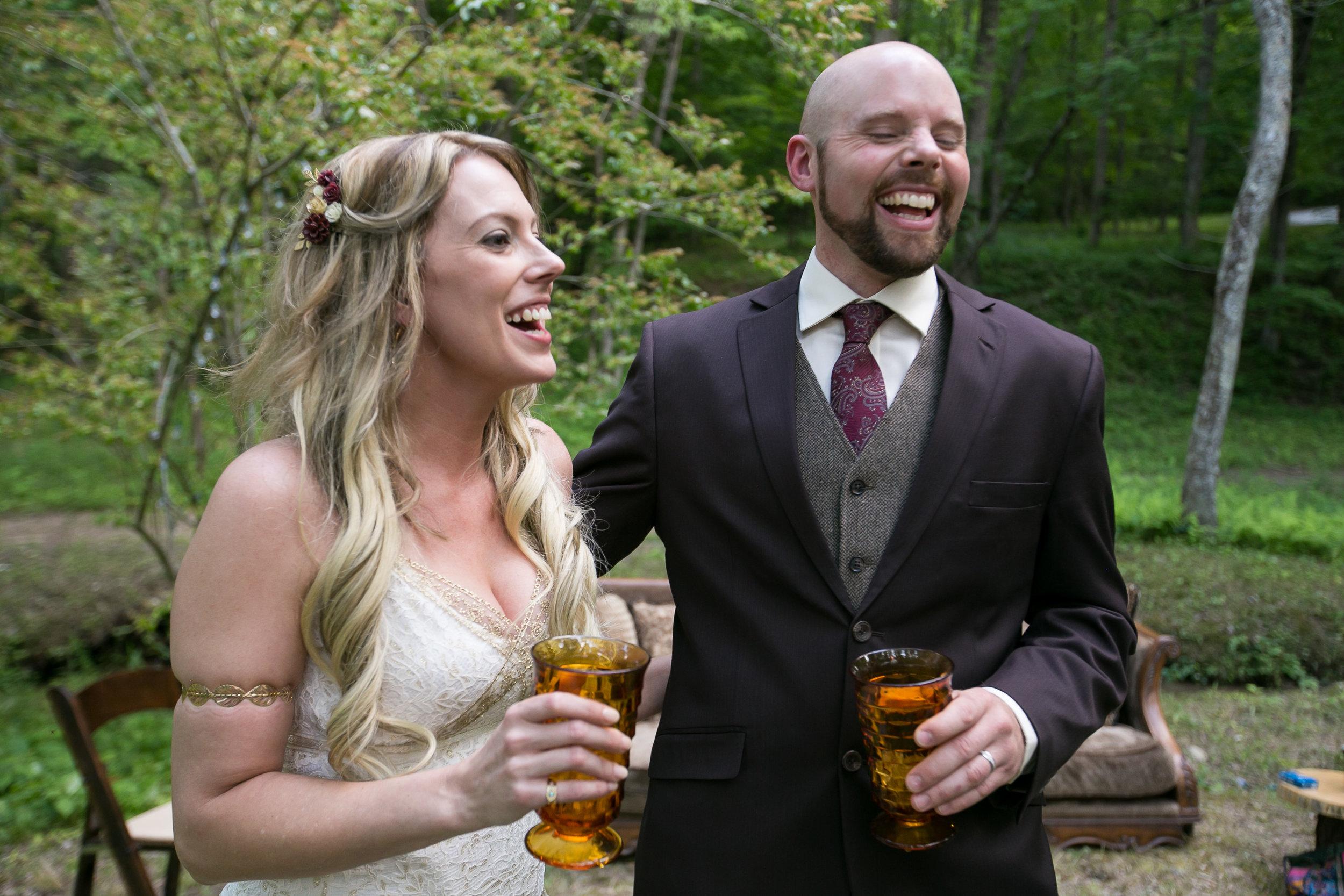 Ashley and David's Ellijay Mountain Wedding