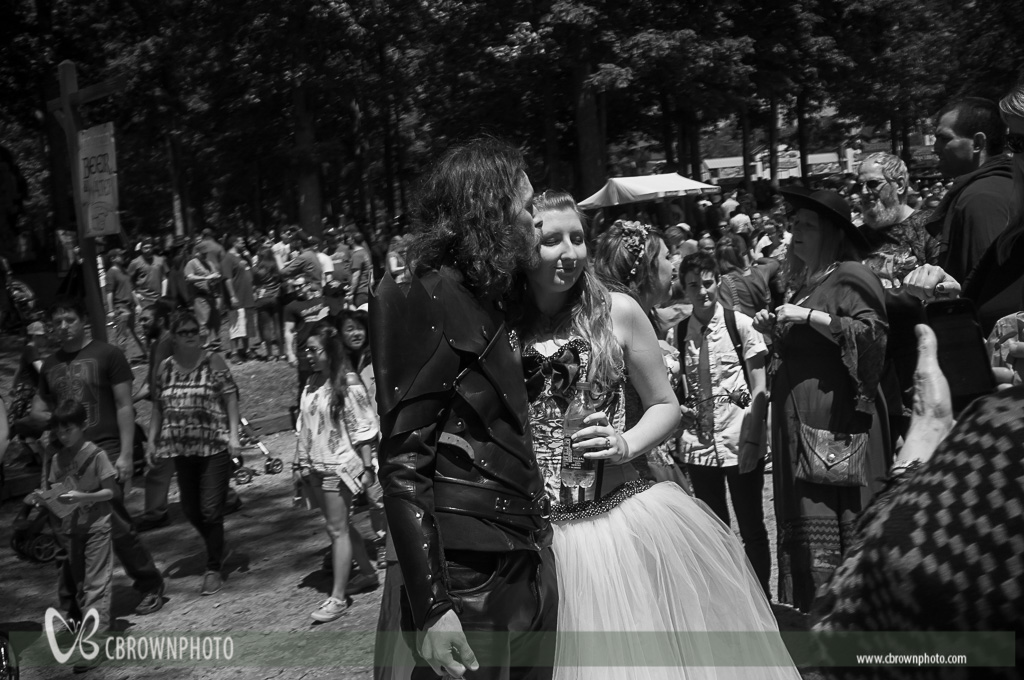 Wedding at the Renaissance Fair in Peachtree City