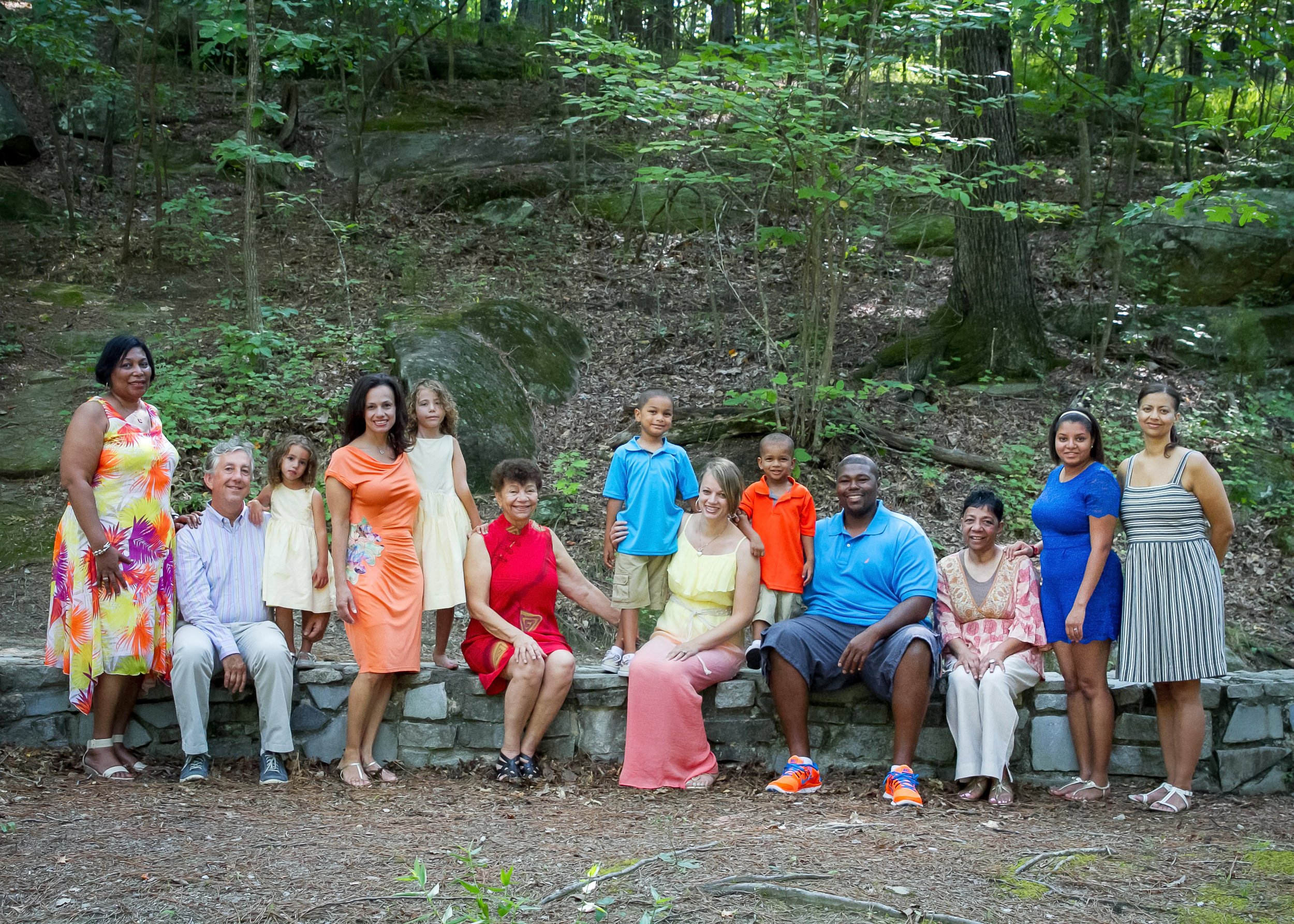 Family Portrait at Stone Mountain Park