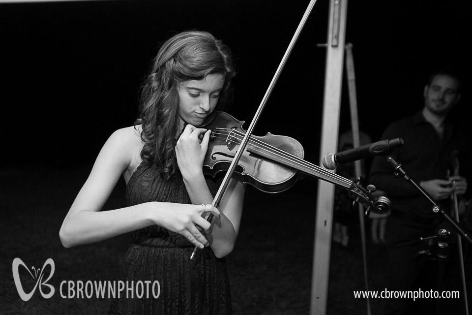 Nem's daughter Kira, joins the twin fiddlers.