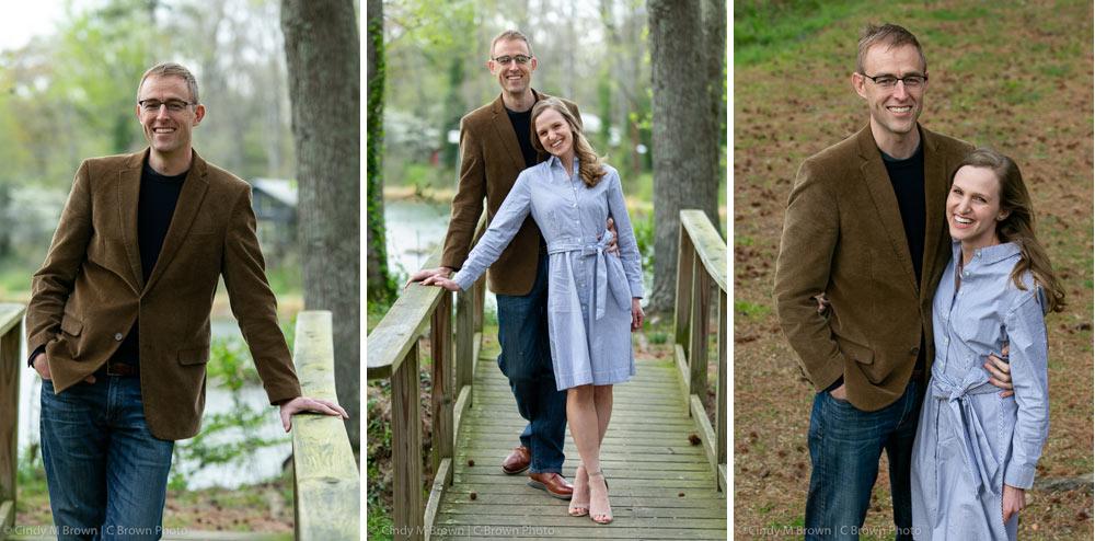 Pine Lake engagement photos