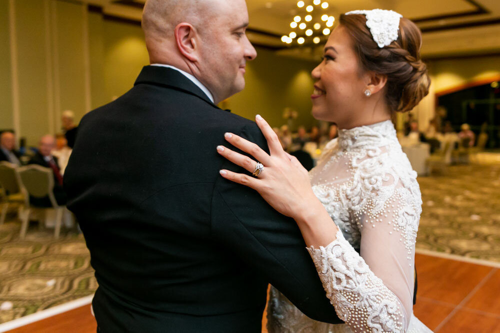 Josh and Aljean Hickman Wedding at the Newnan Centre