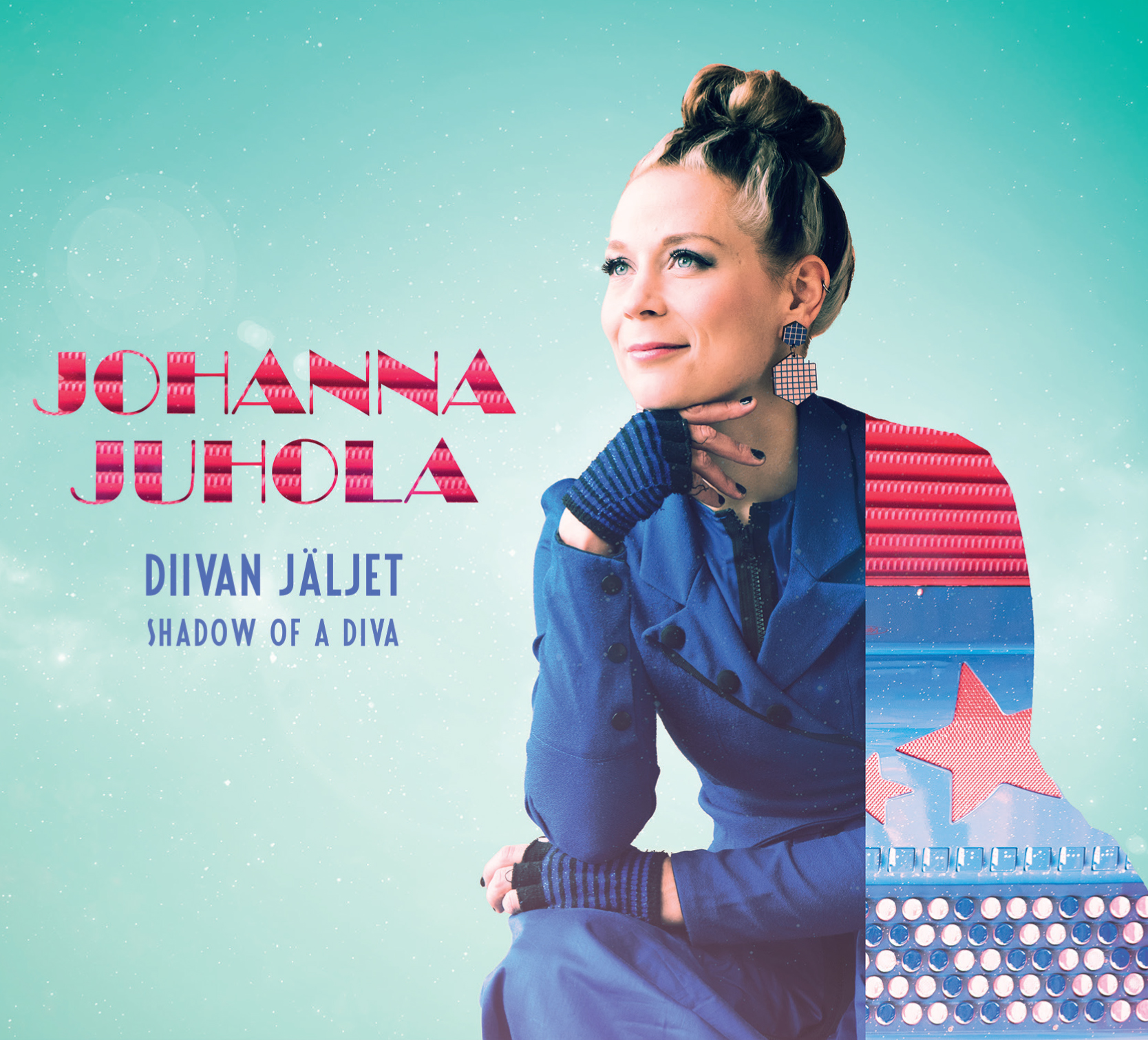 Download print quality CD cover photo  HERE .  JOHANNA JUHOLA: Diivan jäljet - Shadow of a Diva  JJCD003, 2017  Listen to a compilation of the tunes of this album on  SOUNDCLOUD .