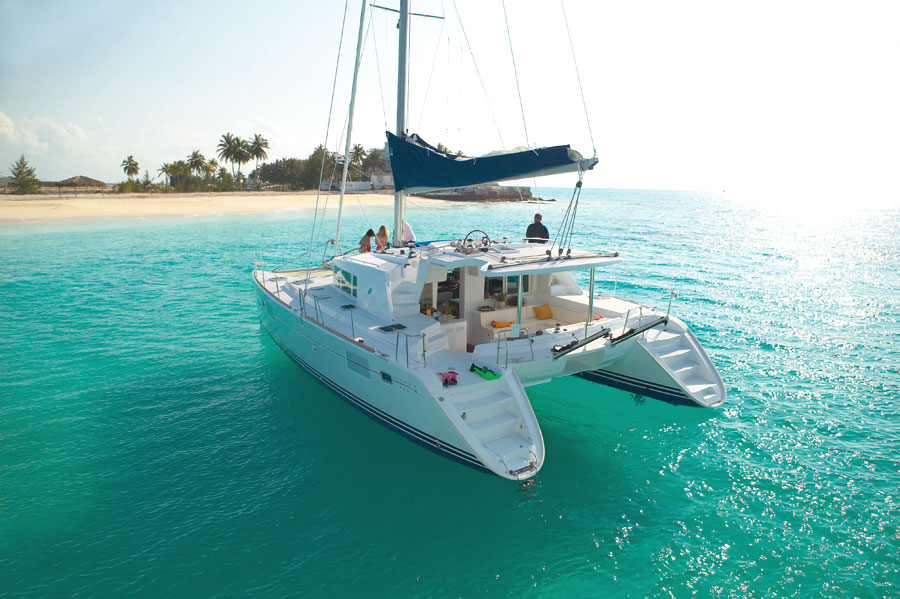 LAGOON 400   40 ft Length | Sleeps 8 guests   Catamaran without air-conditioning, four cabins sleep 8 guests.   £1,065 pp*/week