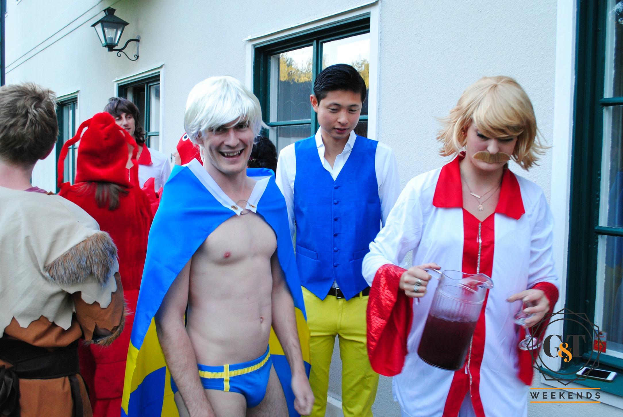 Swedish costume party