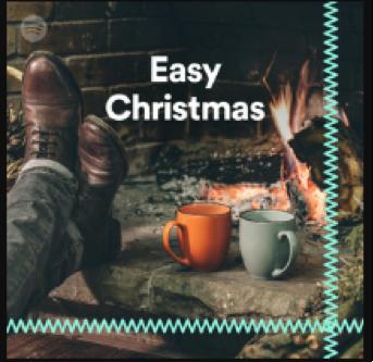 easy christmas playlist spotify