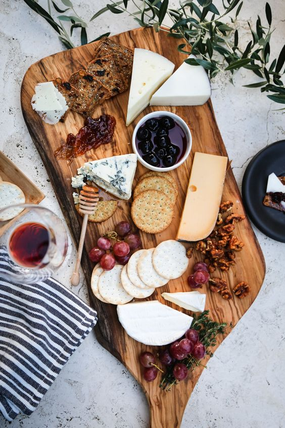 cheese board holiday christmas party