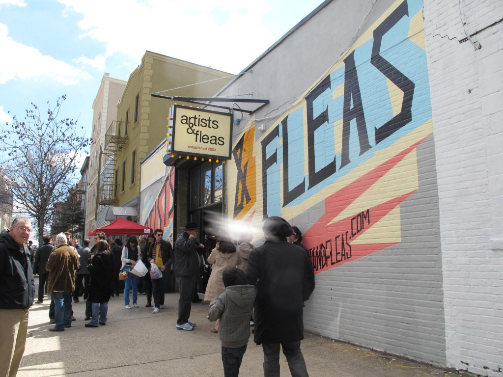 artists and fleas