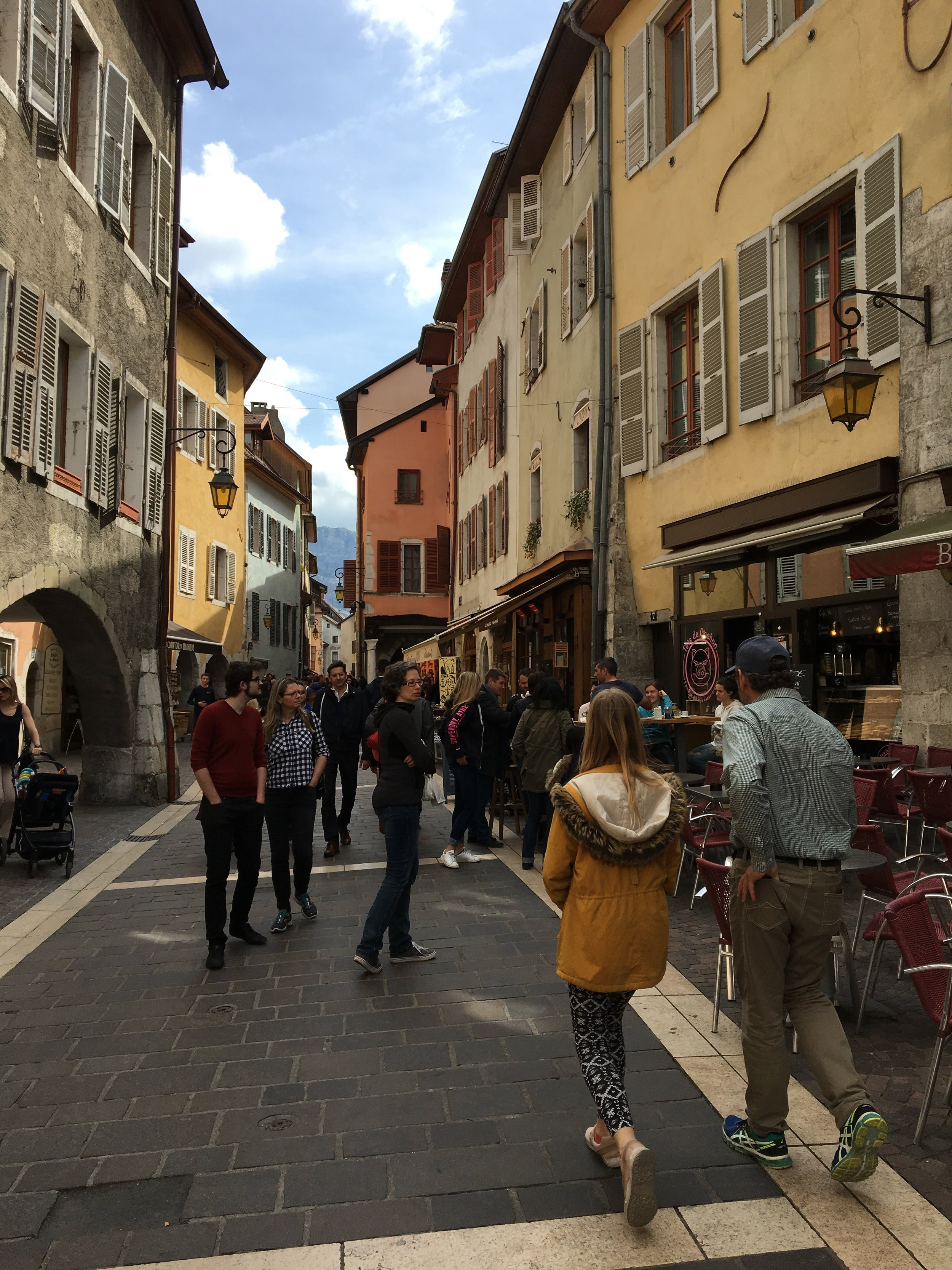 annecy streets france