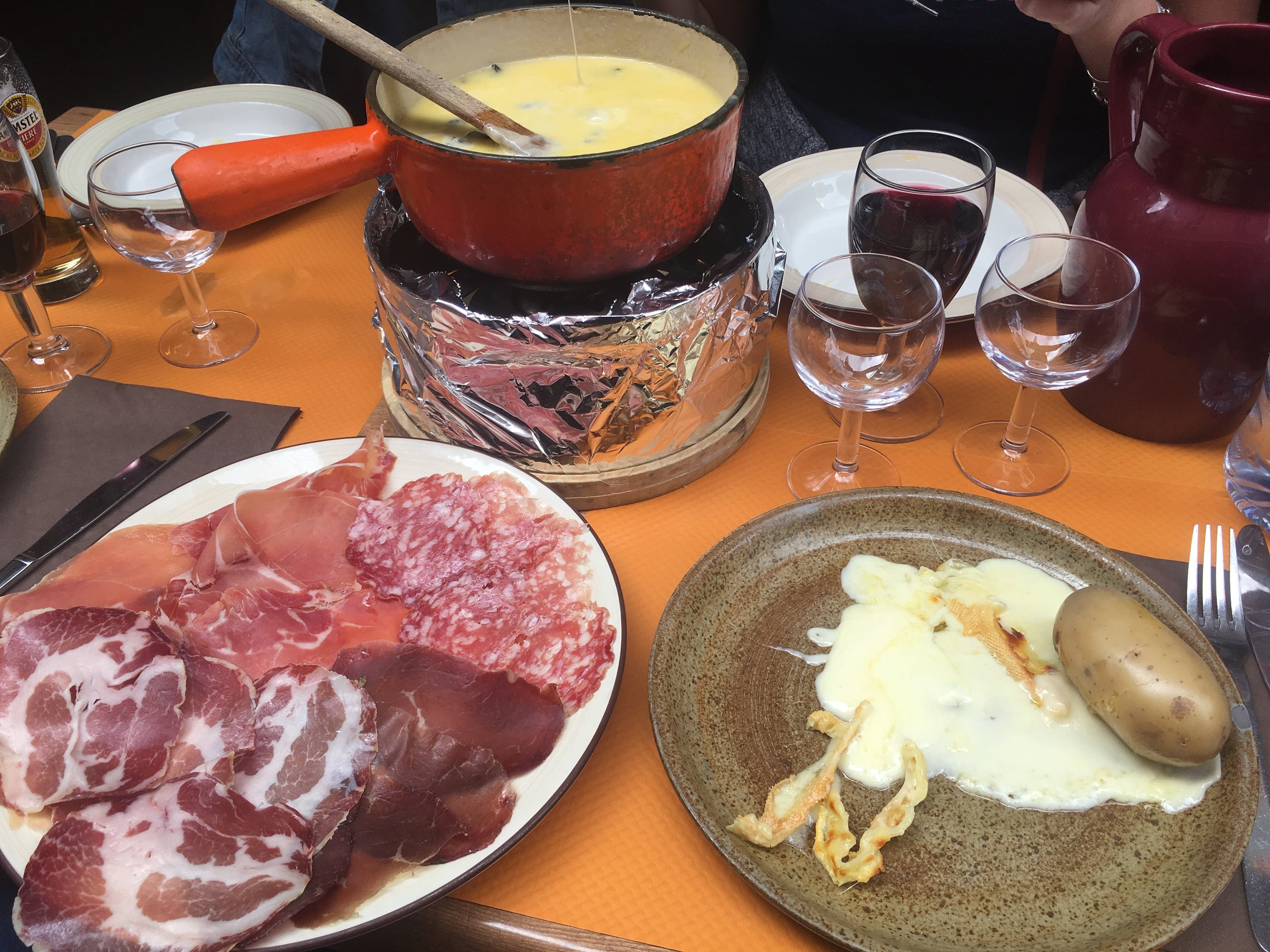 raclette annecy france