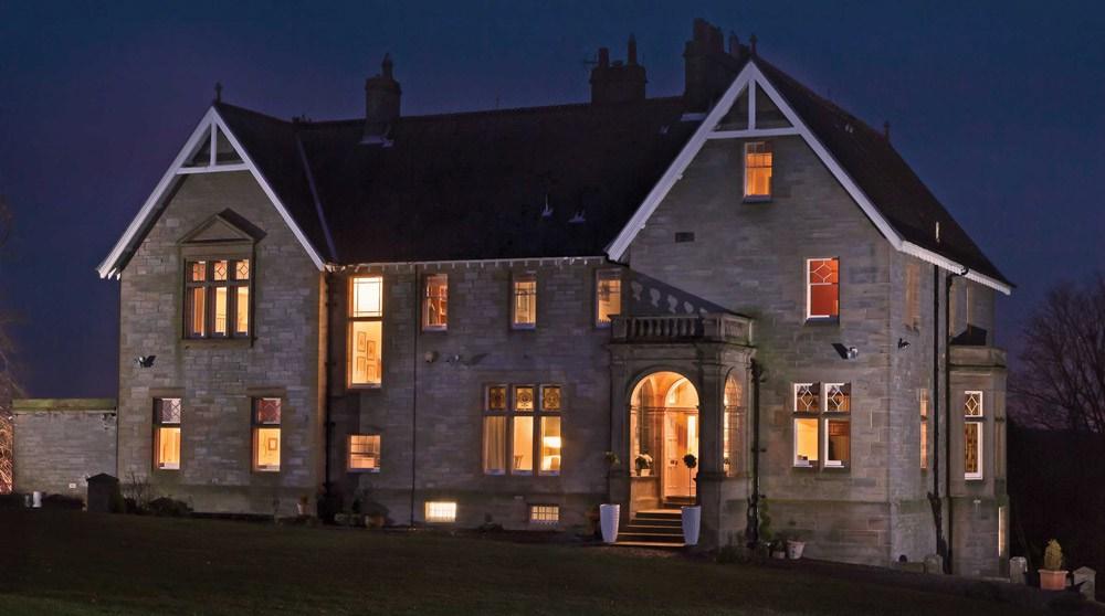 Scotland Manor House Night