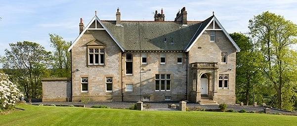 Balmule manor house