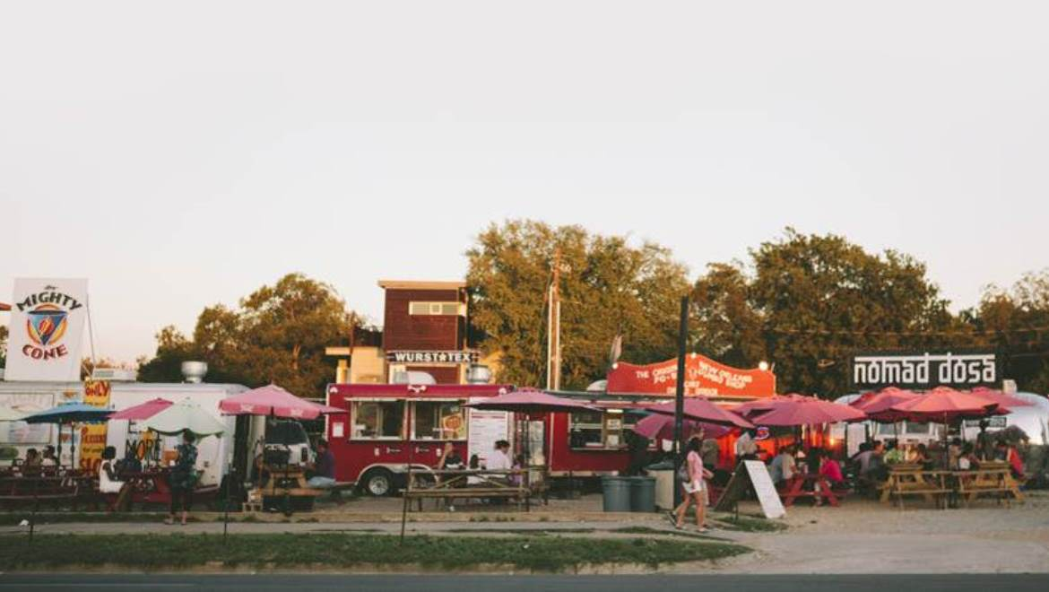 We'll be sampling everything Austin's world-famous food trucks have on offer