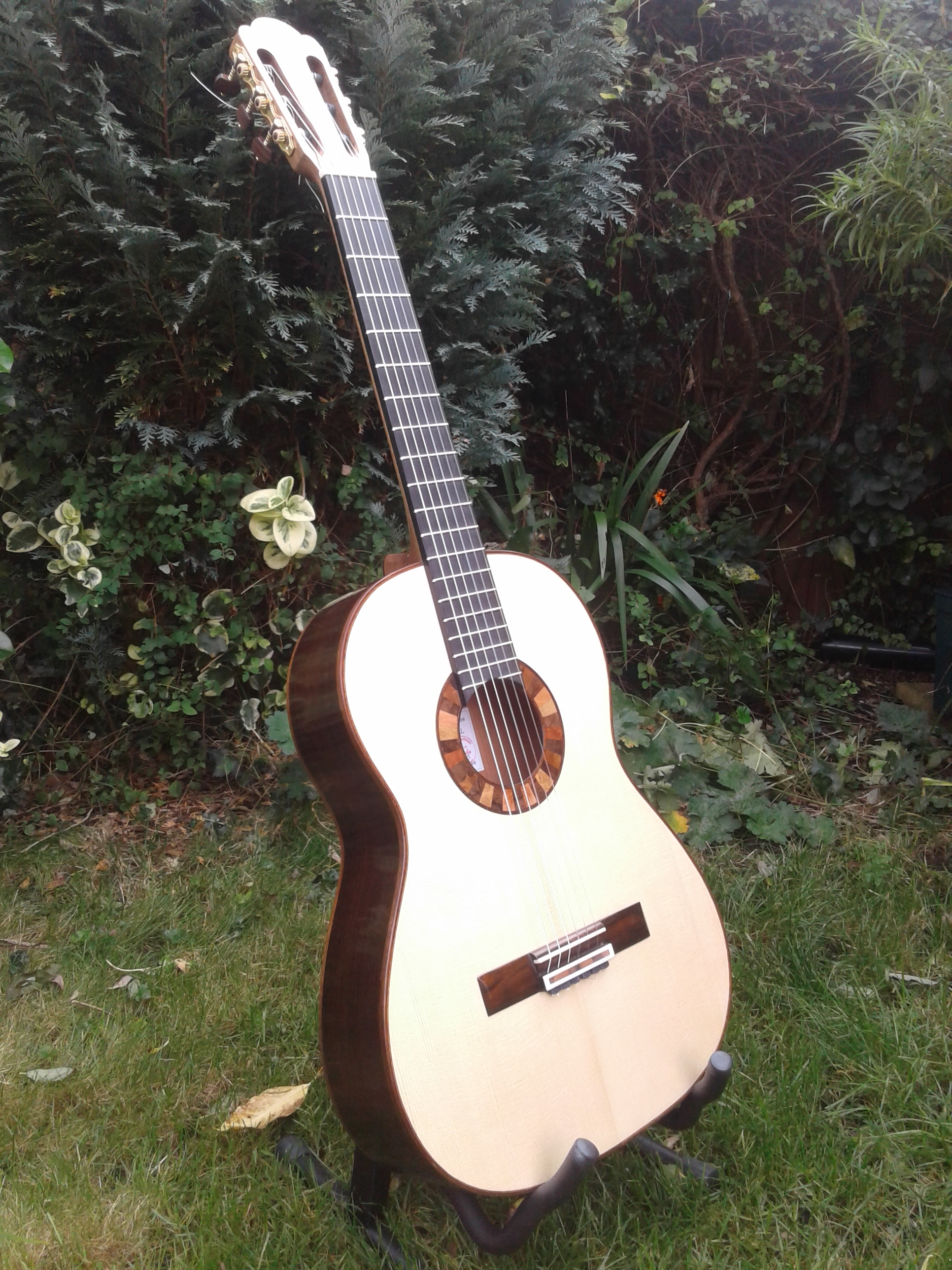 lattice classical guitar