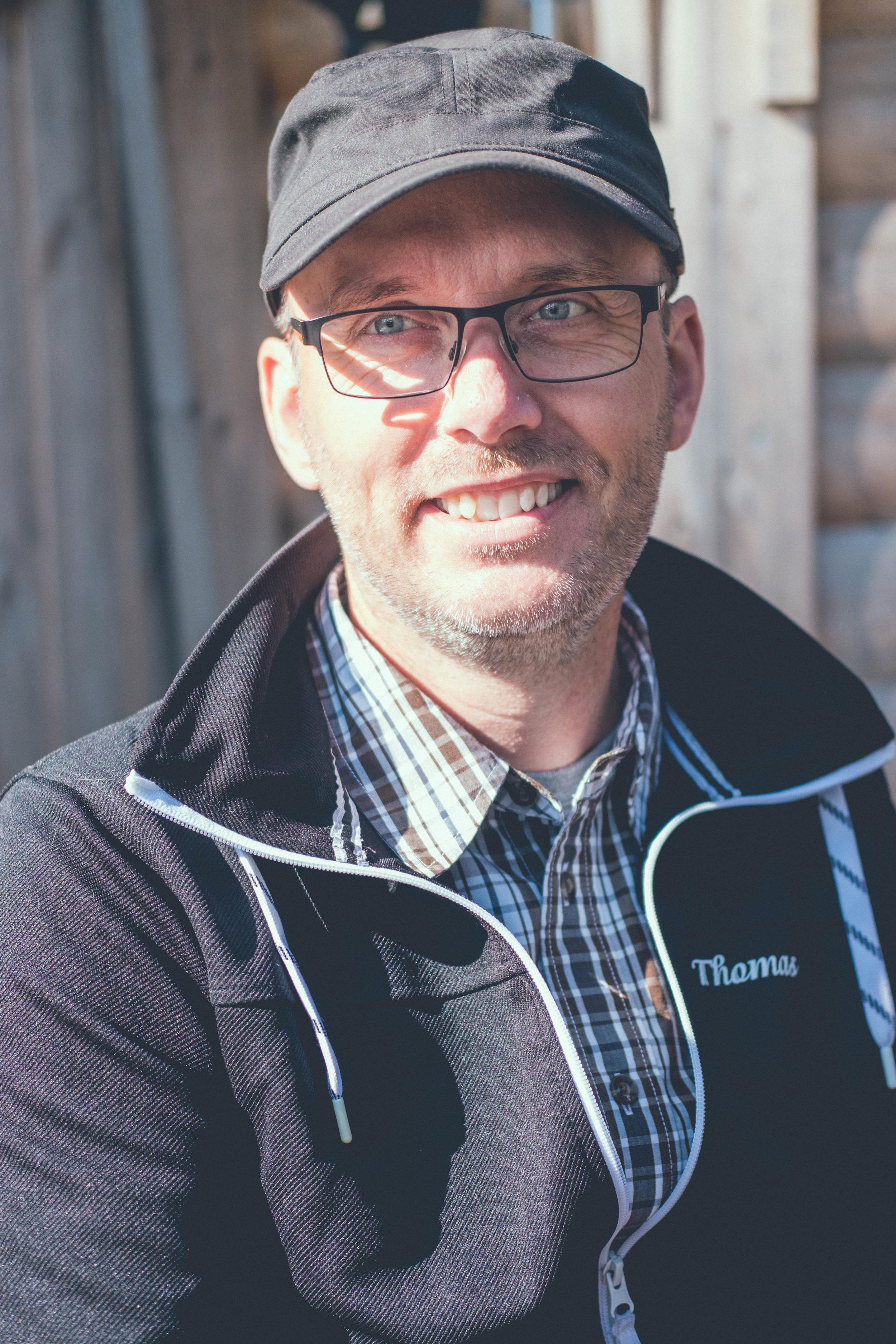 Thomas Norberg, ordförande Svenska Vita Älghundsklubben. FOTO: Mattias Färnstrand, Kuxagruppen AB