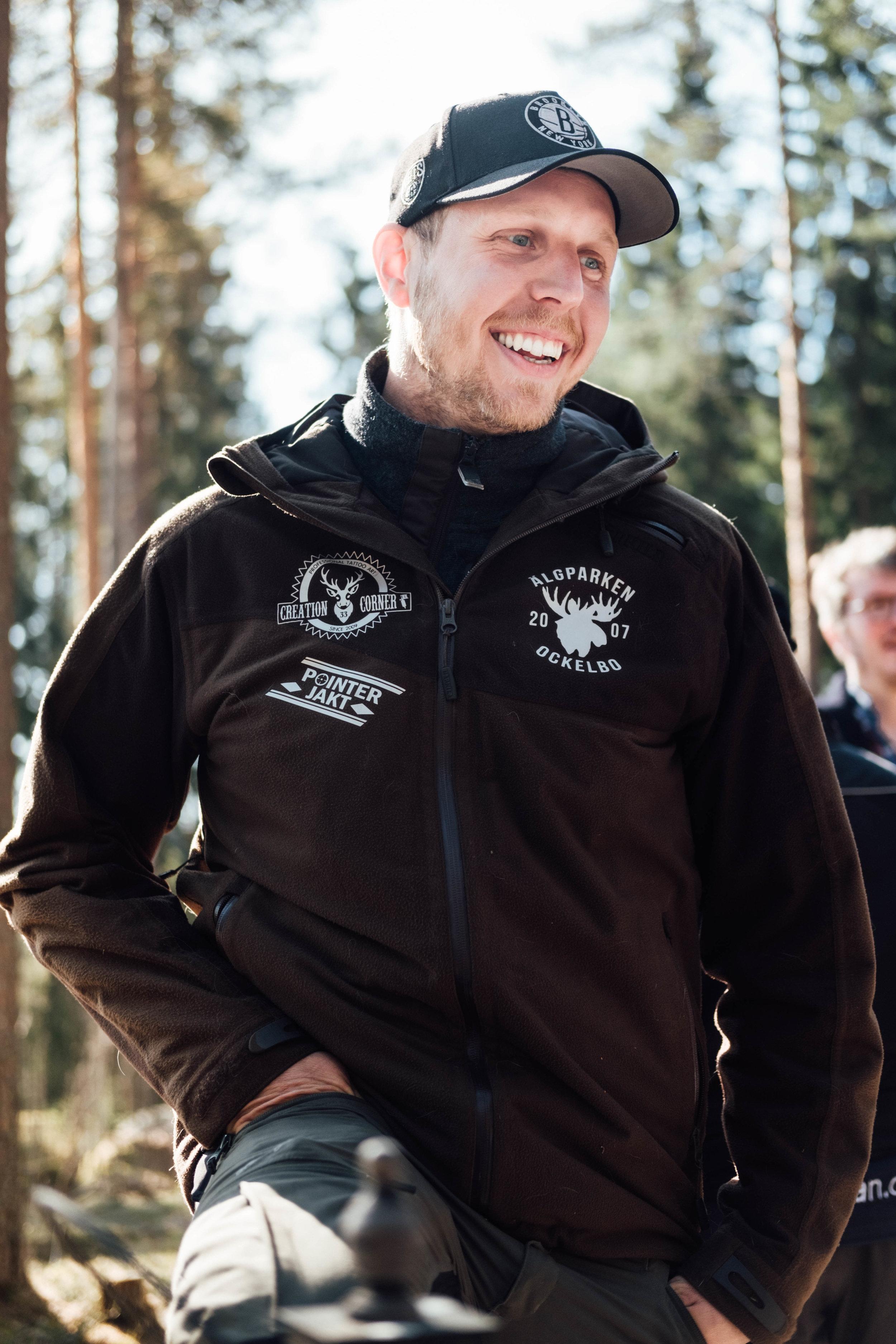 Petter Arkesjö, Älgparken i Ockelbo. FOTO: Mattias Färnstrand, Kuxagruppen AB