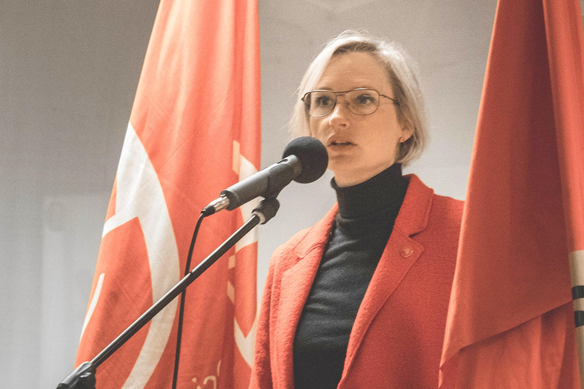 Riksdagsledamot Åsa Eriksson.