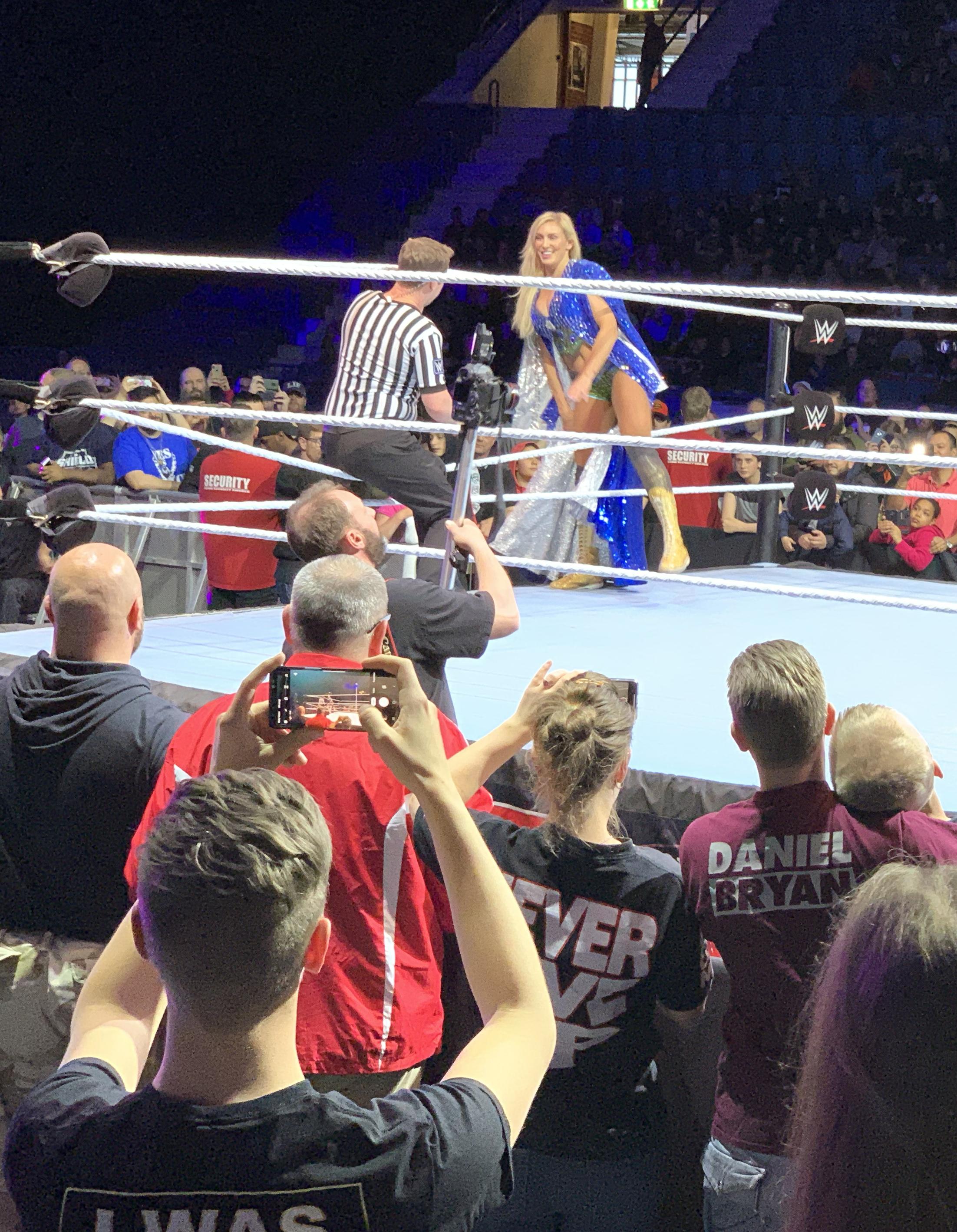 """Charlotte Flair kallas även för """"The Queen"""" och är dotter till wrestlinglegendaren Ric Flair  FOTO: Johan Beijer, Kuxagruppen AB"""
