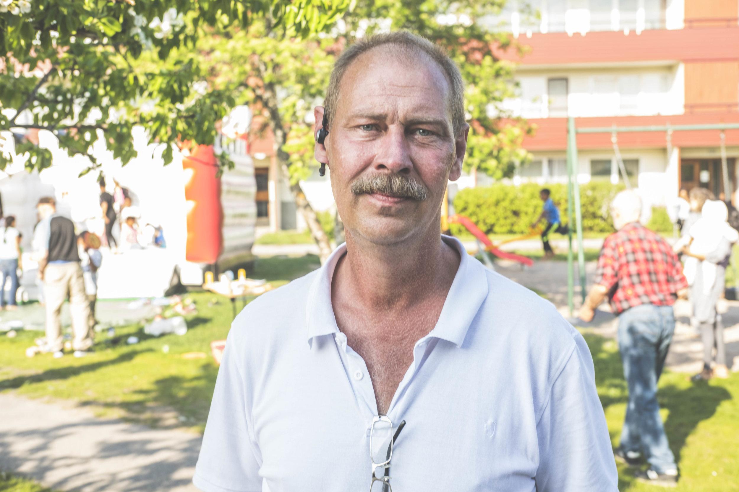 Gunnar Hallberg FOTO: Henrik Westberg, Kuxagruppen AB