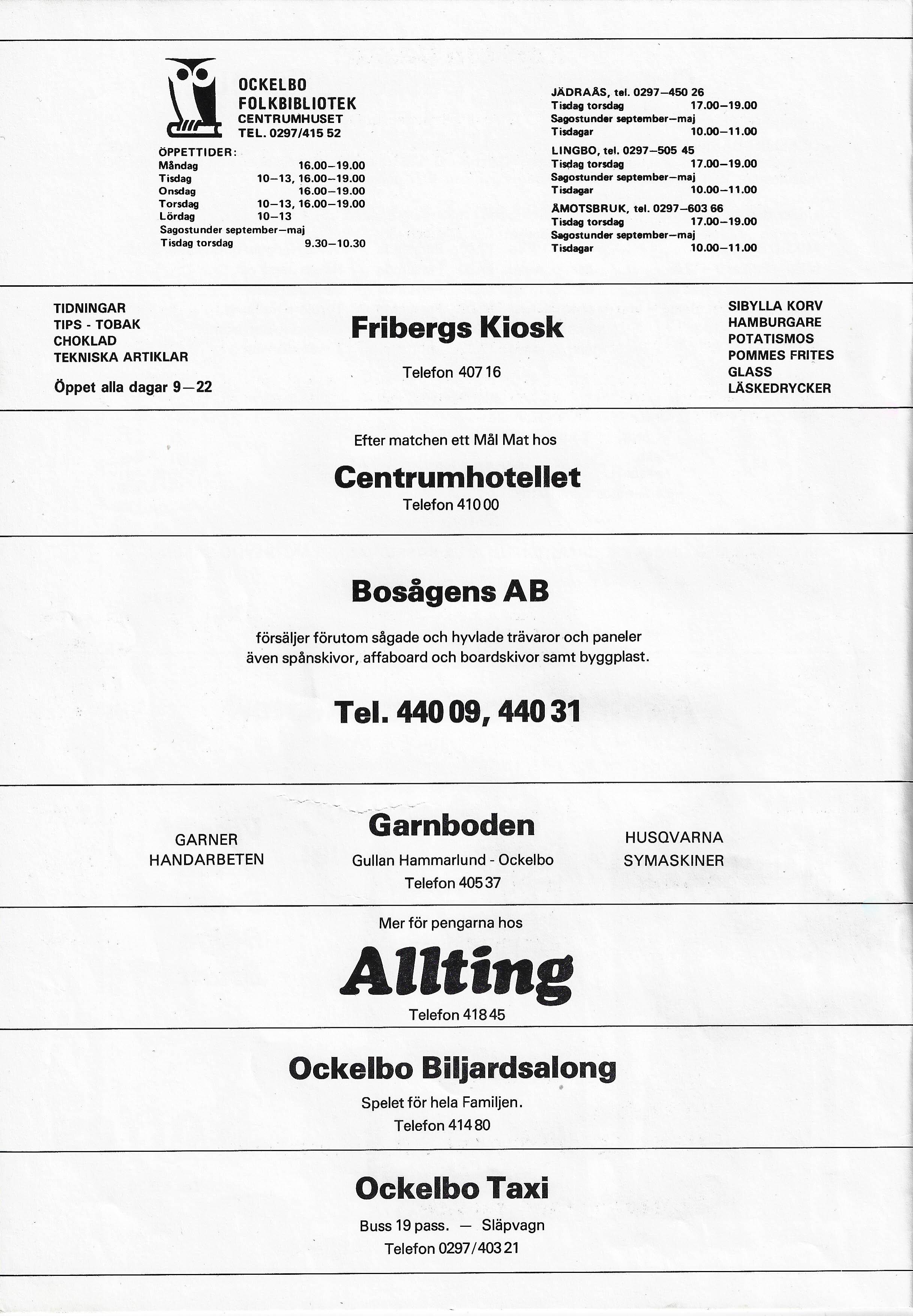 Ockelbo lotta lindgren - BodyContact