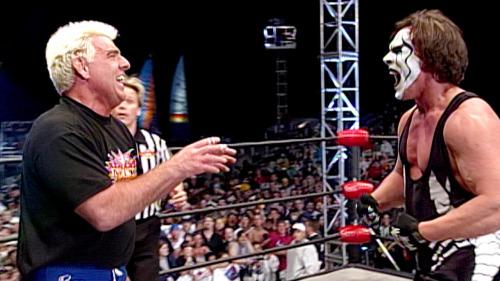 Sting vs Ric Flair, Last Monday Night Nitro ever