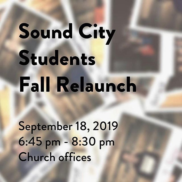 We hope to see you Wednesday 9/18 from 6:45-8:30p for our Student Fall Launch. Bring $5 for pizza and soda and invite your friends. We'll have a gift for every student in attendance! #studentministry #pizzaparty #falllaunchparty