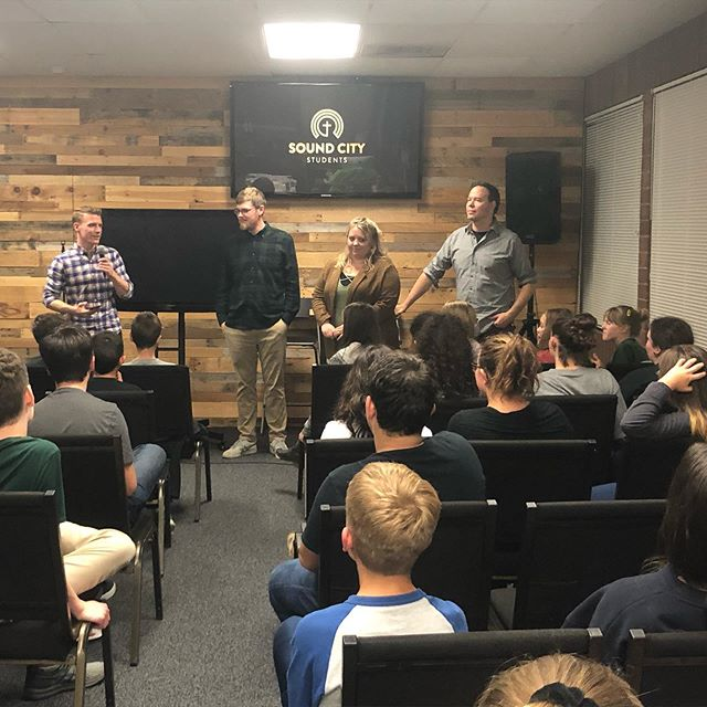 We had an awesome time last night at our fall relaunch party. Lots of excitement and hopeful anticipation as we look ahead to all the Lord is going to do in the student ministry this year! #studentministry #pizzaparty