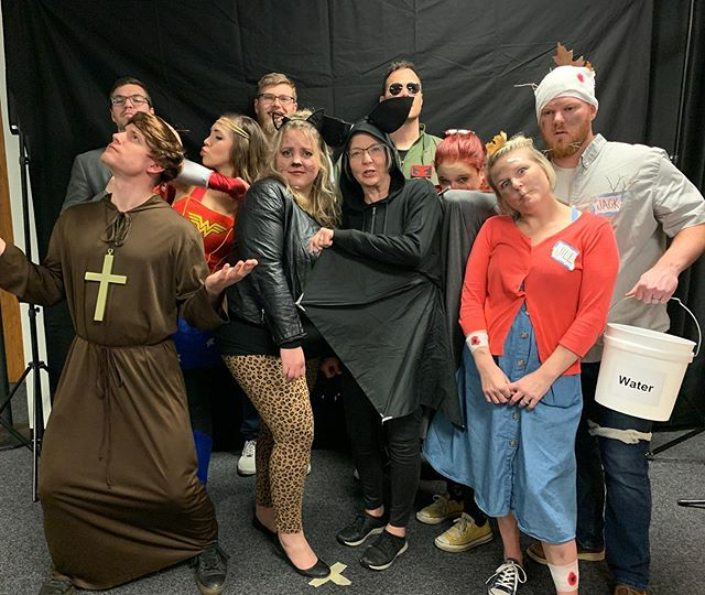 As followers of Christ we don't have to live in fear. #jesusisthelightoftheworld #halloweenpartyatchurch