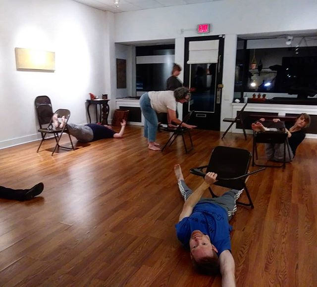 Exploring The Feeling of Form in tonight's first meeting of the Foundation class! We arrived. We set our intentions. We moved with joy. We awakened our Centers and explored the Four Brothers. We spoke through Beauty. We experienced each other as whole beings. #michaelchekhov #actorslife #actingclass #actingstudio #actor #actress #Cleveland #clevelandactor #clevelandactress #clevelandartist #artist #performance #performanceart #performer #dancer #improvisation #psychophysical #acting #Cleveland #thisiscle