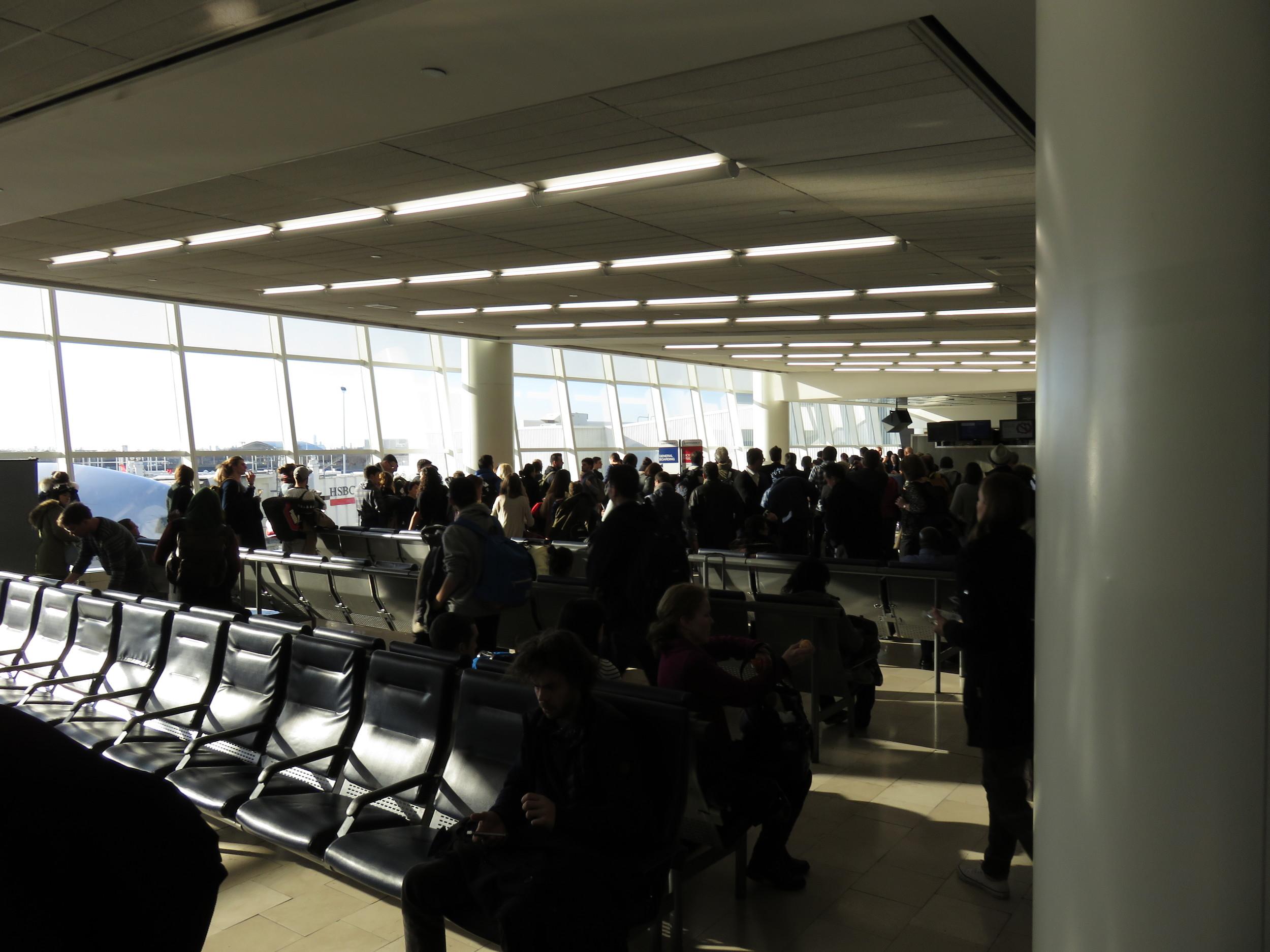 General boarding queue