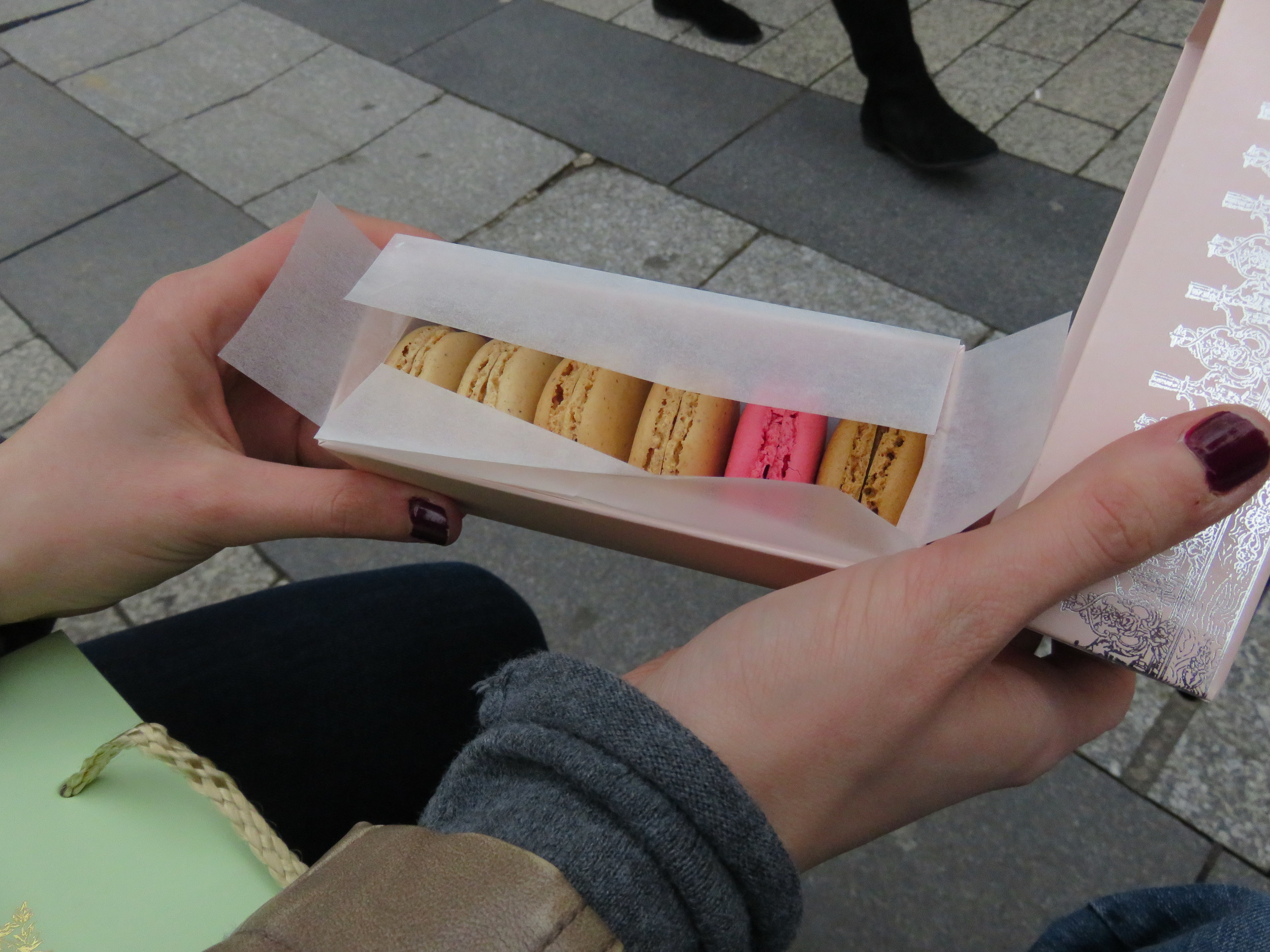 Macaroons from Laudree