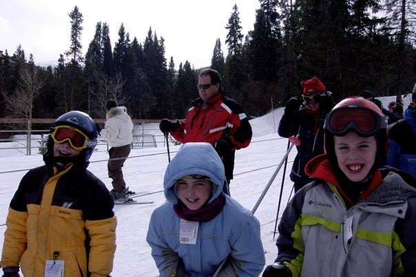 Carvin' up the slopes!
