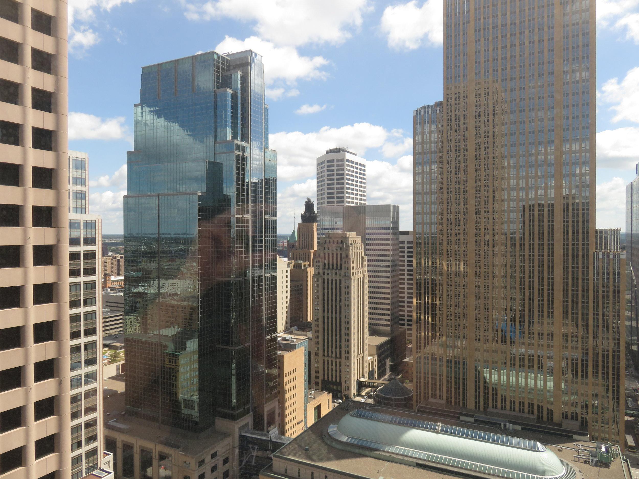 Minneapolis Marriott city view